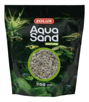 Песок для аквариума ZOLUX Aquasand Quartz Gros, крупный (15 мм) 750 мл