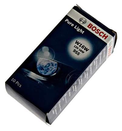 Лампа Bosch 16W W16W 1987302205