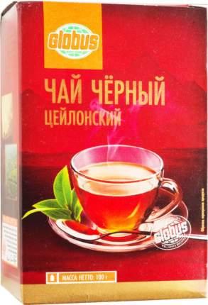 Чай черный Глобус цейлонский листовой 100 г