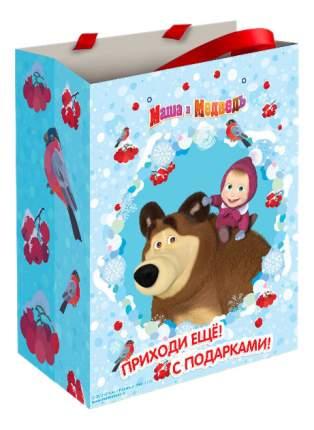 Пакет подарочный Росмэн Маша зимой 28847