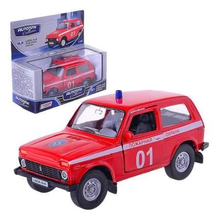 Коллекционная модель Lada 4x4 Пожарная охрана Autotime 37029 1:36