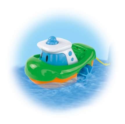 Заводная игрушка для купания ABC Лодочка зеленая