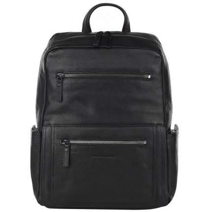 Рюкзак кожаный Piquadro Karl черный 20 л