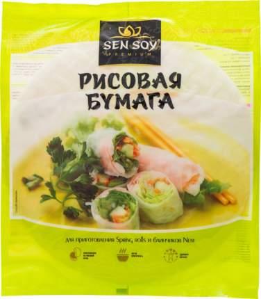 Рисовая бумага Sen Soy premium для приготовления spring rolls и блинчиков nem 100 г