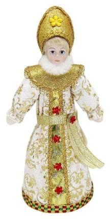 Фигурка новогодняя Новогодняя сказка 973031 Белый, красный, золотистый