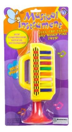 Музыкальная игрушка Труба с клавишами желтая Н80354 Gratwest