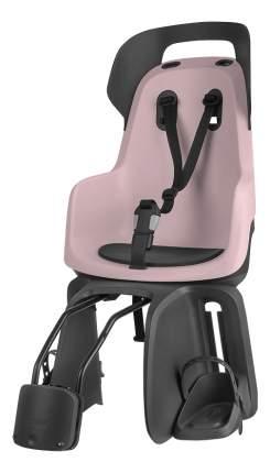 Велокресло BOBIKE Go Frames с креплением на раму розовое
