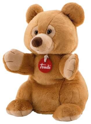 Мягкая игрушка Trudi на руку Бурый Мишка, 25 см