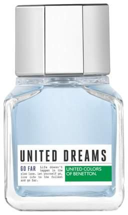 Туалетная вода мужская United Colors of Benetton United Dreams Go Far