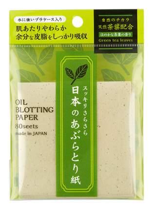 Матирующие салфетки Ishihara Oil Blotting Paper 80 шт.