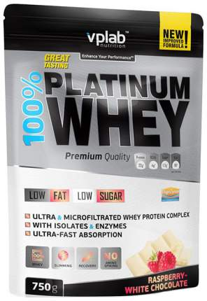 Протеин VPLab 100% Platinum Whey 750 г Raspberry-White Chocolate