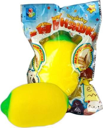 Игрушка-антистресс 1Toy мммняшка squishy, лимон Т12318