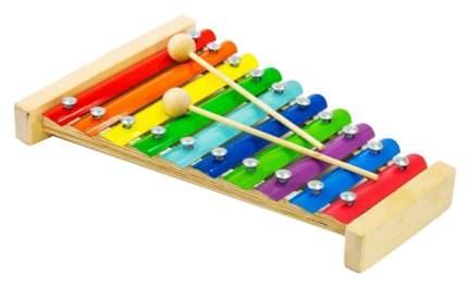 Ксилофон игрушечный Alatoys Металлофон МФ1001