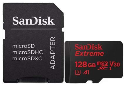 Карта памяти SanDisk Extreme Micro SDXC SDSQXAF-128G-GN6MA 128GB
