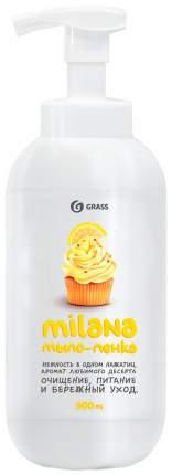 """Жидкое мыло """"Milana мыло-пенка"""" GRASS Лимонный пирог 500 мл"""