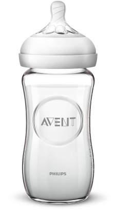 Бутылочка для кормления Philips Avent 240мл серия NATURAL 2.0 Стекло