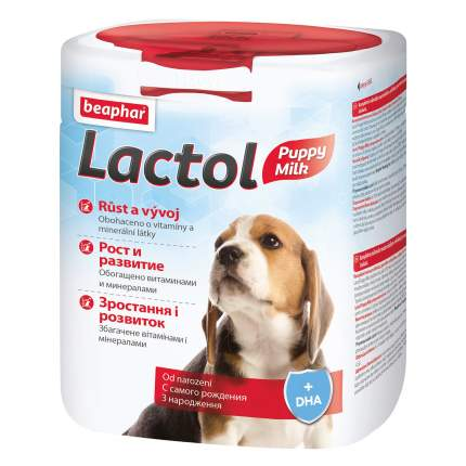 Молочная смесь для щенков Beaphar Lactol puppy, 500 г