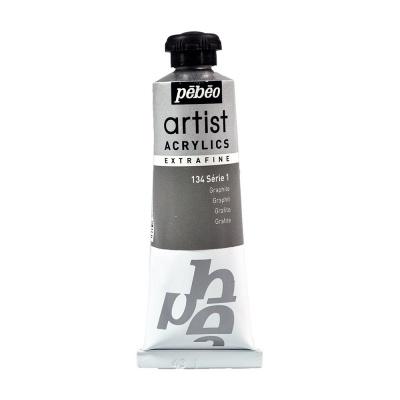 Акриловая краска Pebeo Artist Acrylics extra fine №1 графит 37 мл