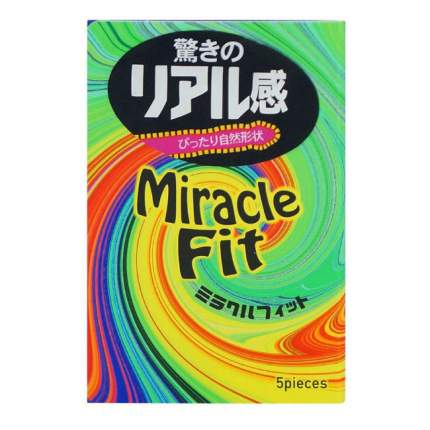 Презервативы Sagami Xtreme Miracle Fit 5 шт.