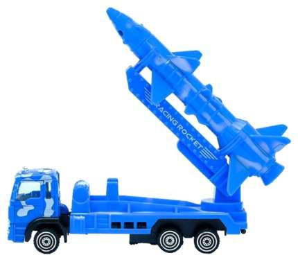 Машина спецслужбы Sima-Land Тягач с ракетой 1595262