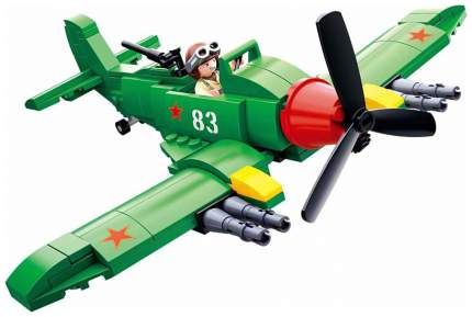 Конструктор пластиковый Sluban Самолет атакующий M38B0683