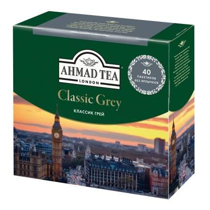 Чай черный Ahmad Tea earl grey со вкусом и ароматом бергамота 40 пакетиков