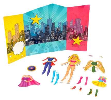 Магнитный набор с куклой, фоном и наклейками СуперЛиза Happy Valley