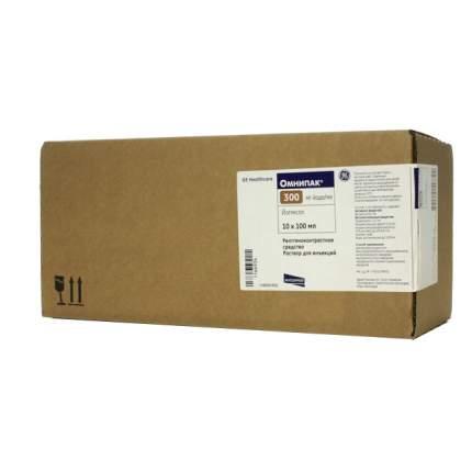 Омнипак (йогексол) р-р для ин. 300 мг/мл 100 мл 10 шт.