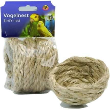 Гнездо для птиц Beeztees, пеньковая веревка, 10х4 см