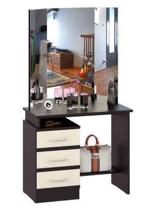 Стол косметический СВК Сакура венге/дуб лоредо, 110х42х153 см