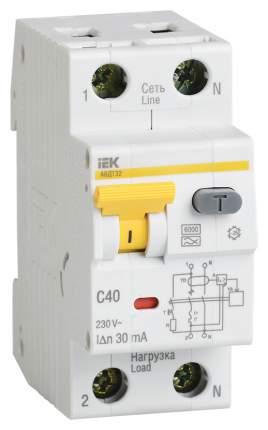 Выключатель автоматический АВДТ-32, 2 п, 50 А, 100 мА, А, 6 кА, MAD22-5-050-C-100