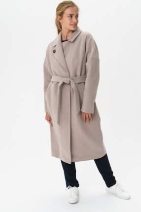 Пальто женское ElectraStyle 4-7038/11-128 бежевое 40 RU