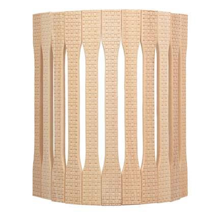 Абажур для светильника Банные штучки с орнаментом Рогожка угловой 31x9x22 см