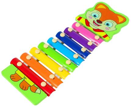 """Музыкальная игрушка """"Металлофон. Лис"""", 8 тонов Sima-Land"""