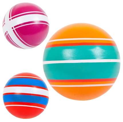 Мяч Джампа Полосатики грунтованные окрашенные вручную, д.75 мм