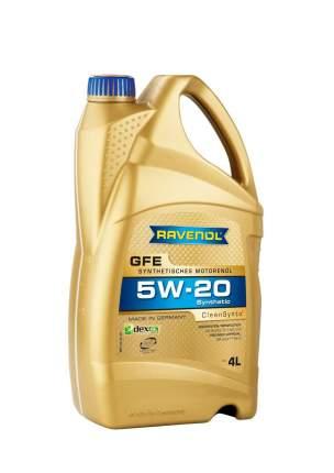 Моторное масло Ravenol GFE SAE 5W-20 4л