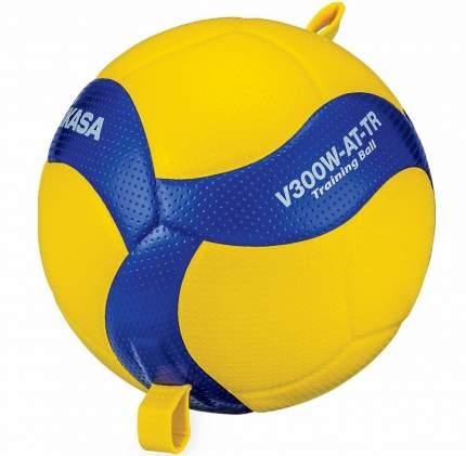 Волейбольный мяч Mikasa V300W-AT-TR №5 blue/yellow