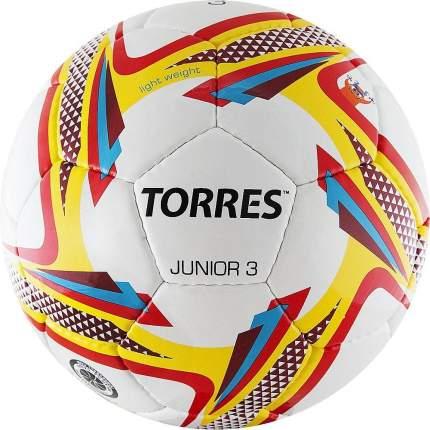 Футбольный мяч Torres Junior №3 white/red
