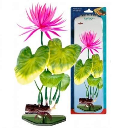 Растение для аквариума Penn-Plax Нимфея, красная, с грузом, 27 см