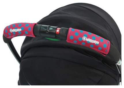Чехлы Choopie CityGrips  на ручку для универсальной коляски 372/4196 polka-dot pink