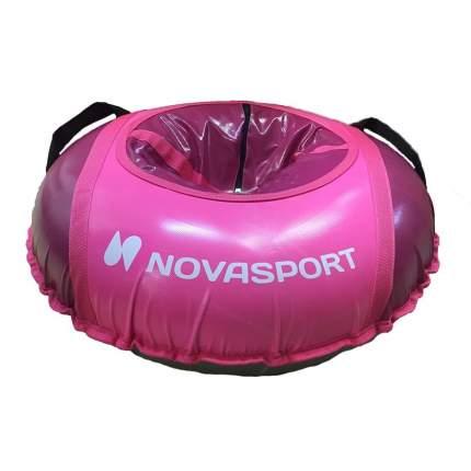 Санки надувные 80 см тент без камеры NovaSport тент без камеры бордовый