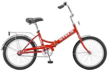 Велосипед детский двухколесный Stels Pilot-41 20 малиновый