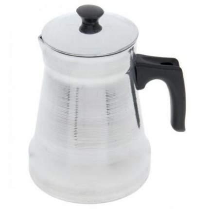 Кофейник Эрг-Ал алюминий, 1 л, полированный
