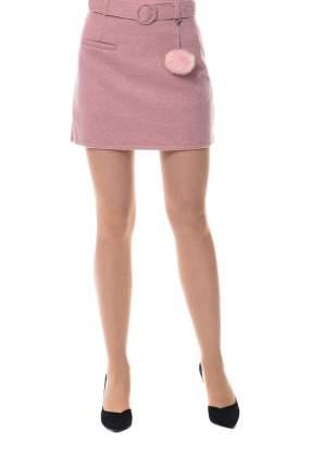 Юбка женская N.A.Z. 61598 розовая 40 RU