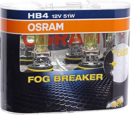Hb4 (51w) 12v Лампа Fog Breaker (К-Кт 2шт) OSRAM арт. 9006FBR-HCB