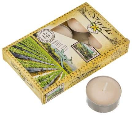 Набор свечей Adpal 348-490 Бежевый