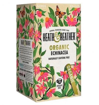 Напиток эхинацея Heath and Heather органик 20 пакетиков
