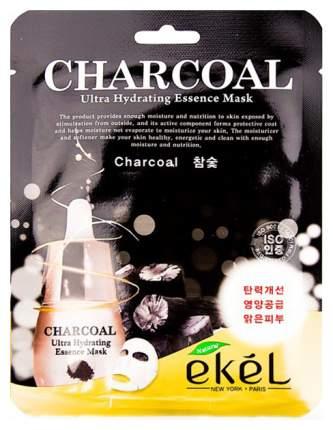 Маска для лица Ekel Charcoal Ultra Hydrating Essence Mask 25 г