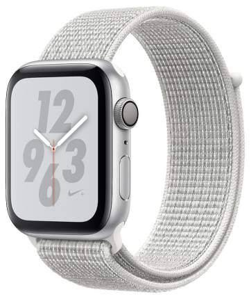 Смарт-часы Apple Watch Series 4 Nike+ 40mm Silver Al/White Nike Sport Loop (MU7F2RU/A)