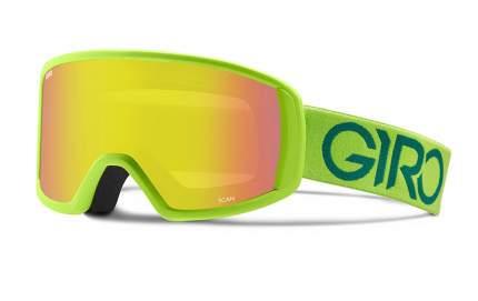 Горнолыжная маска Giro Scan 2016/2017 светло-зеленая/желтая M